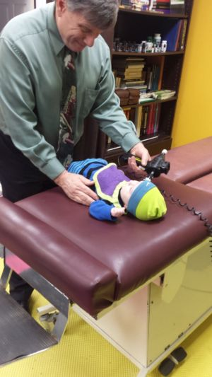Chiropractic Infant Adjusting is Safe and Necessary