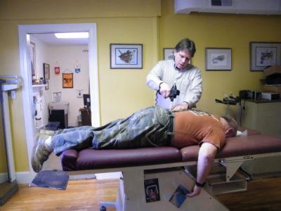 Arthrostim Instrument for Spinal Adjusting