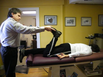 Activator Methods, pelvic test