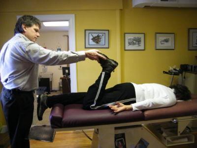 Activator Methods, pelvic test