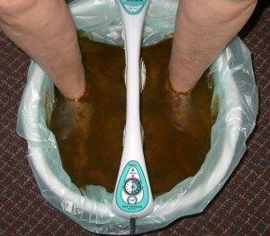 Detox Foot Bath After 35 min