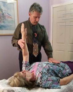 Dr D doing NRT testing